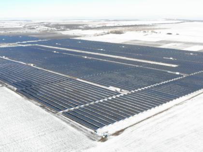Industrial solar power plant 58 MW, Chernivtsi region