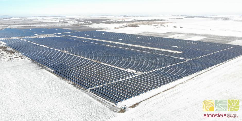 Przemysłowa elektrownia słoneczna 58 MW, obwód Czerniowiecki