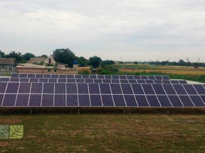 30 kW on-grid SPP for feed-in tariff, Lazurne, Kherson region